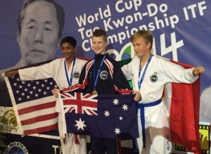 Cooper Ravlic - gold medalist